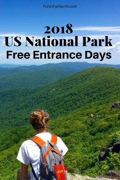 US National Parks | US Travel | 2018 National Park free entrance days offer a great deal on outdoor fun. #Virginia #nationalparks #hiking