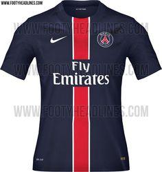 76d7af54f Paris Saint-Germain 15-16 Kits Leaked - Footy Headlines Home And Away