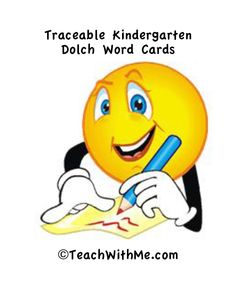 Dolch Word Cards and Activities