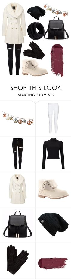 """Winter"" by siri12345 ❤ liked on Polyvore featuring 10 Crosby Derek Lam, River Island, Miss Selfridge, Timberland, John Lewis and Helmut Lang"