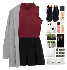 """""""you're okay"""" by lanadelnotyou ❤ liked on Polyvore featuring Alexander Wang, Margaret O'Leary, Fuji, Forever 21, Topshop, Lux-Art Silks, Threshold and NARS Cosmetics"""