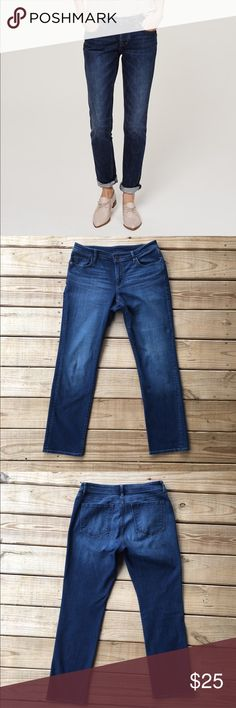Ann Taylor Loft Boyfriend Jeans Super cure and relaxed fit jeans in excellent condition! Has a little stretch in them. Offers are welcome. LOFT Jeans Boot Cut