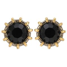Gucci Crystal Earrings (365 CAD) ❤ liked on Polyvore featuring jewelry, earrings, black, earring jewelry, crystal earrings, gucci earrings, earrings jewellery and gucci