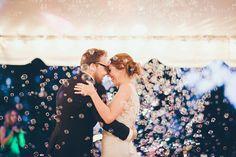 Bubbles, bubbles everywhere =)  DIY camp wedding | White Rabbit Studios