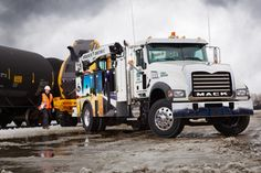 Mack Trucks' Granite Medium Heavy Duty 4x2 model offers a Class 7 or Class 8 solution in a lighter, rugged work truck
