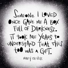 Mary Oliver via honeytruffleco