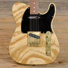 One of a Kind!! Completely unique Telecaster stands out with its never-before-seen hand-painted custom enamel finish. Clearly a unique work of art; will not be confused with anything else available fo