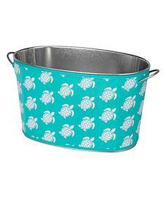 Look at this #zulilyfind! Sea Turtle Insulated Party Tub #zulilyfinds