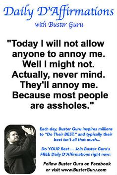 #affirmations See the Top 20 (FUNNY!) Affirmations... click above ;-)