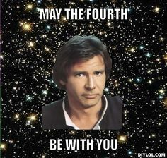 Sure, Star Wars day was in May, but this meme works for Fourth of July, too. Obviously.   Source: DIY LOL Funny 4th Of July, Fourth Of July Memes, July 4th, Top 20 Funniest, Famous Speeches, My Fellow Americans, Star Wars Day, Star Trek, Happy July