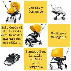 """""""La silla de Sergio"""" es la versión más urbana de Bugaboo. #Bee en #amarillo #Moodboard de #Patypeando #quieroserembajador #atodocolor #bugabooespana @BugabooES @Madresfera"""