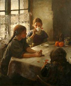 Lady At The Tea Table Mary Cassatt | The Tea Party