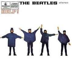 """6 August: On this day in The Beatles' album Help! was released. """"More about the album at The Beatles official website. Beatles Mono, Beatles Album Covers, Famous Album Covers, The Beatles Help, Beatles Photos, Paul Mccartney, John Lennon, Ringo Starr, Classic Rock"""