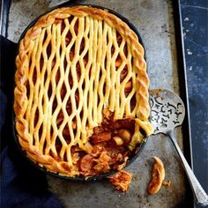 A mouthwatering Spanish pie perfect for supper.