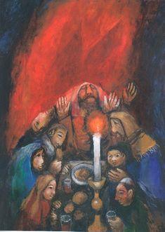 성화 - mission - 지거 쾨더의 성화Kinder-Bible