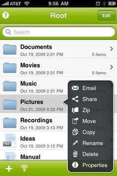 iFiles for iPhone