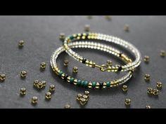 Panduro DIY – Rocaille Earrings Jewellery Diy, Jewelry, Easy Crafts, Glass Beads, Beaded Bracelets, Bling, Earrings, Rock Shower, Ear Rings