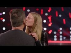 Simon Falls in LOVE with Trainer Sara Carson and Her Dog 'Hero' | America's Got Talent 2017 - YouTube