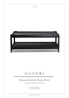 Coffee Table FF-118: Box Furniture Galeri Pollard