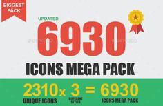 mega pack iconos premium