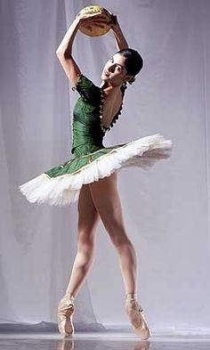 Palmoa Herrera as Esmeralda. Arguably the best feet in ballet.