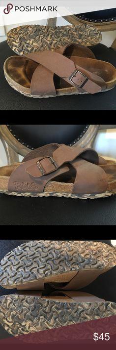 Birki's by Birkenstock brown women's sandals Birki's by Birkenstock brown women's sandals size 39 US Please see pictures Birkenstock Shoes Sandals