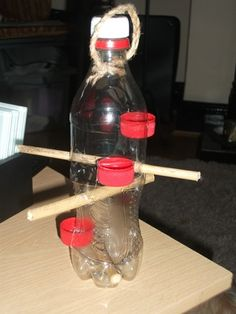 How to make a wild bird feeder.