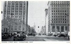 Federal Street circa 1940