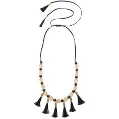 Kate Spade New York Moroccan Tile Tassel Statement Necklace ($198) ❤ liked on Polyvore featuring jewelry, necklaces, kate spade charm, tassle necklace, kate spade jewelry, statement necklaces and tassel necklace