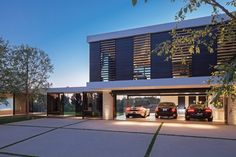 Contemporary Home Garage - Beverly Hills House designed by Architect Marc Whipple