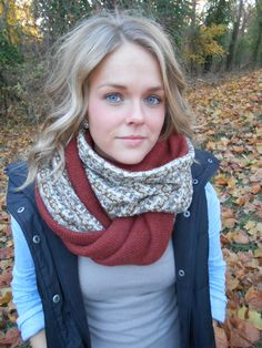 Upcycled Sweater Infinity Scarf | DIY - Let's Try It | Pinterest