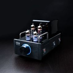 Glow's Amp One has been described as a hi-fi epiphany. It's a classic stereo tube amplifier design with a twist: it connects to your computer via the Glow Audio DAC ONE—a plug-and-play device designed to give you top-tier sound quality from any computer. Use your computer as a as a hi-fi music source by streaming audio from the internet or playing music stored in your hard drive.