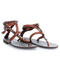Campomaggi Sandals Schuhe cognac