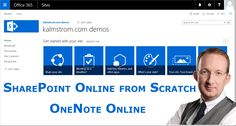 *Share Notes in SharePoint with OneNote Online* SharePoint Online team sites come with a Notebook link in the Quick Launch. Here is an introduction: http://www.kalmstrom.com/Tips/SharePo...
