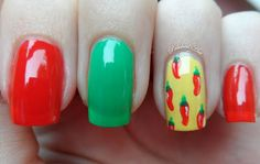 Hot Pepper Nails