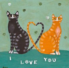 cat love :)