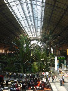 Atocha train station, Madrid