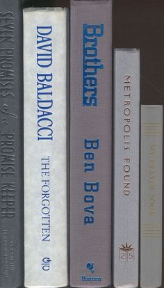 Shades of Gray Books set of 5  Light Grey and by CalhounBookStore