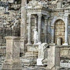 Sagalassos Ancient City, Burdur (161-180) TURKEY.