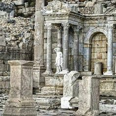 Sagalassos Ancient City, Burdur (161-180) TURKEY.