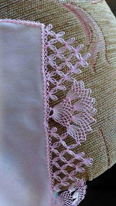 Very Popular White Cheesecloth Needle Lace - Knitting Crochet Borders, Crochet Motif, Crochet Lace, Crochet Stitches, Needle Tatting, Needle Lace, Bobbin Lace, Lace Knitting, Baby Knitting Patterns