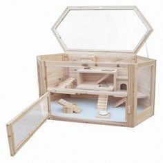 Wooden Hamster Cages for Small Animal