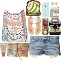 You Asked: How to Wear Thong Sandals on Polyvore