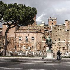 Solo en Roma.