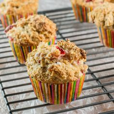 Better-Than-Coffeeshop Strawberry Banana Muffins