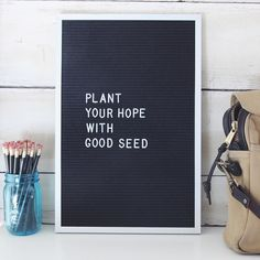 Plant Your Hope With Good Seed - Marcus Mumford