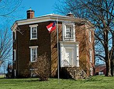 Octagon Hall -  Franklin, Ky. Ostensibly, one of Kentucky's haunted buildings.