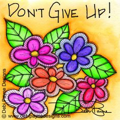 """Introduction to my Artist Book """"Don't Give Up!"""""""