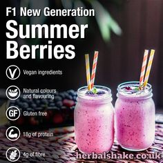 💚 NEW FLAVOUR! 💚 This brand new flavour has just been released to order. How yummy does this look & sound? And even better, it's also suitable for vegans! 💚 Herbalife Nutrition is just getting bigger & better. Herbalife 24, Herbalife Nutrition, Bodybuilding Protein, 60 Day Challenge, Vegan Shakes, Protein Fruit, Summer Berries, New Flavour, Natural Flavors