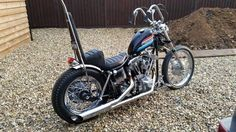fast-iron: 1972 FX Superglide short chopperFollow fast-iron for more bobbers, choppers, cafes and hot rods